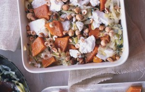 butternut-squash-gratin-with-goat-cheese-and-hazelnuts