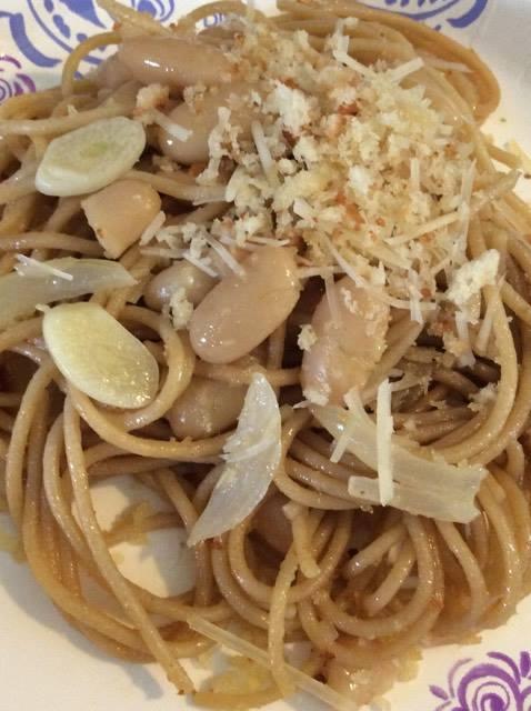 anchovy spaghetti